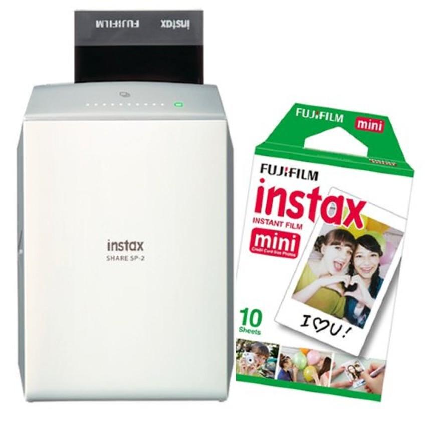 Máy in ảnh cầm tay Fujifilm Instax Share SP-2 (chính hãng) + 1 pack film mini 10 tấm