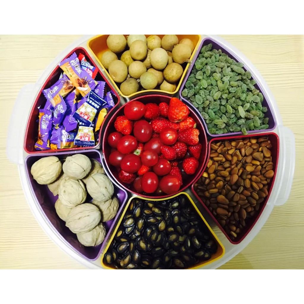 Khay bánh kẹo, hạt , mứt tết phong cách NHẬT BẢN giá cạnh tranh
