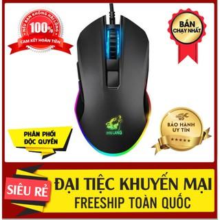 Chuột Máy Tính Led Đẹp FREESHIP Chuột Gaming Máy Tính Led 7 Màu V1 Pro, Chuột Có Dây thumbnail