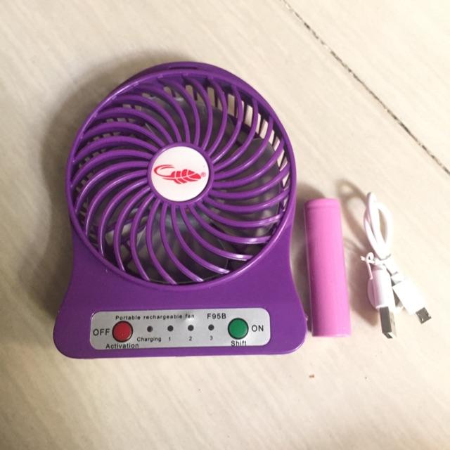 Quạt mini sạc cầm tay mini 3 tốc độ gió giá rẻ - 2603405 , 33249171 , 322_33249171 , 36999 , Quat-mini-sac-cam-tay-mini-3-toc-do-gio-gia-re-322_33249171 , shopee.vn , Quạt mini sạc cầm tay mini 3 tốc độ gió giá rẻ