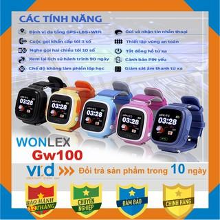 Đồng hồ định vị GPS Wonlex GW100 - Thời trang - Tiện lợi - Bảo hành 12 tháng