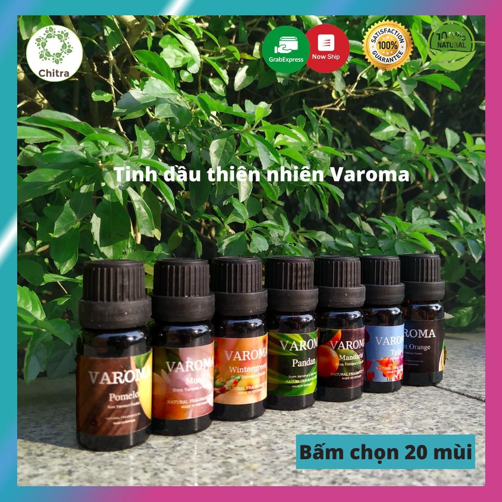 20 loại tinh dầu thiên nhiên Varoma nguyên chất nhập khẩu trực tiếp I Có kiểm định COA