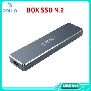 Box ổ cứng di động SSD M2 NVMe/SATA ORICO PVM2F PVM2 PCM2-C3 | Chuyển M.2 PCIe/NGFF to USB 3.1 Type-C Vỏ nhôm cao cấp