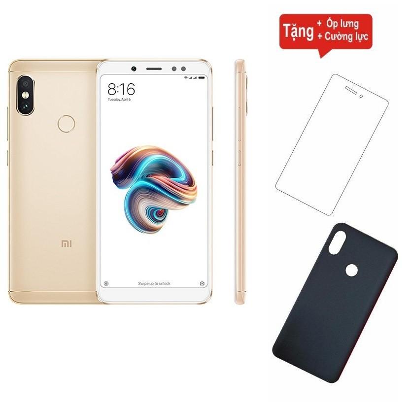 Điện thoại Xiaomi Redmi Note 5 Pro 64GB Ram 4GB + Cường lực + Ốp lưng - Hàng nhập khẩu - 2890684 , 1031172135 , 322_1031172135 , 4120000 , Dien-thoai-Xiaomi-Redmi-Note-5-Pro-64GB-Ram-4GB-Cuong-luc-Op-lung-Hang-nhap-khau-322_1031172135 , shopee.vn , Điện thoại Xiaomi Redmi Note 5 Pro 64GB Ram 4GB + Cường lực + Ốp lưng - Hàng nhập khẩu