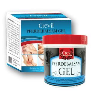 [Date 2024 Hàng Đức]Gel massage xoa bóp giảm đau, giảm nhức mỏi CREVIL ESSENTIAL PFERDEBALSAM GEL 250ml từ thảo dược thumbnail