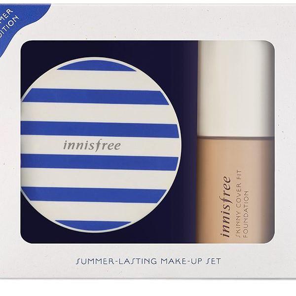 SALE OFF - Combo Kem nền + cushion innisfree Summer Lasting Make up set (limited edition)