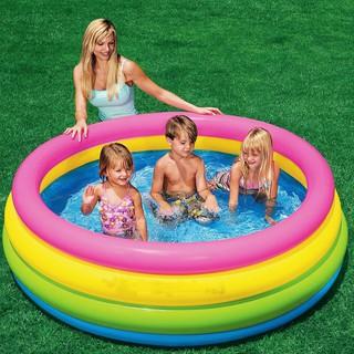 Hồ bơi Intex kích thước (168x46cm) đủ cho người lớn và em bé tắm cùng PP60076
