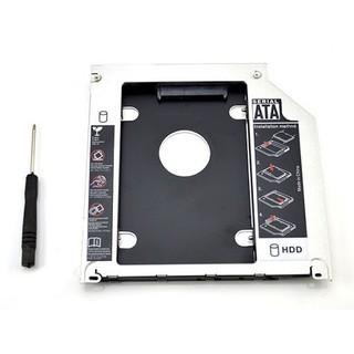 HDD CaddyBay 2.5 Sata 9,5mm 12,7mm ( Vỏ Nhôm ) thumbnail