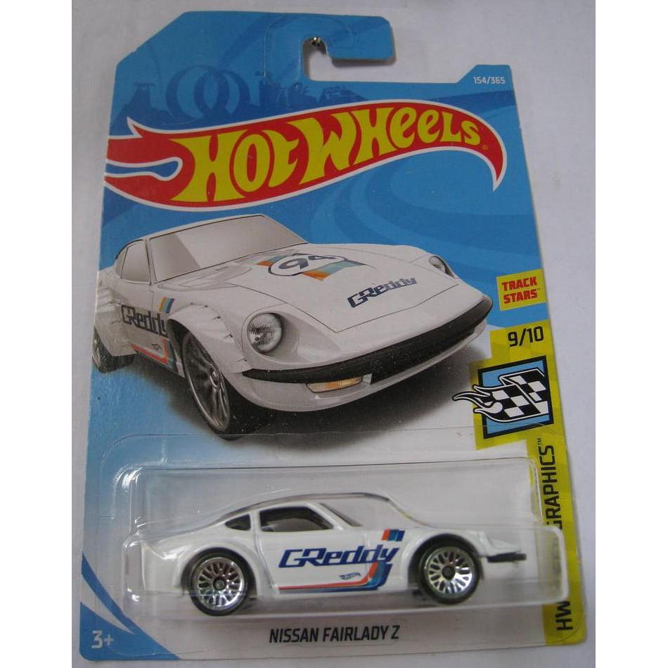 Xe mô hình Hot Wheels Nissan Fairlady Z FJW49