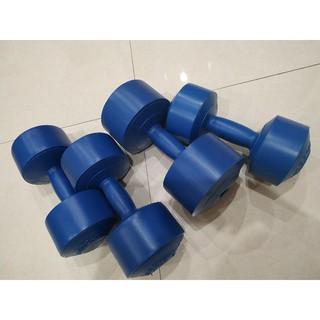 Tạ nhựa tập Gym cao cấp 2kg đã nhồi thumbnail
