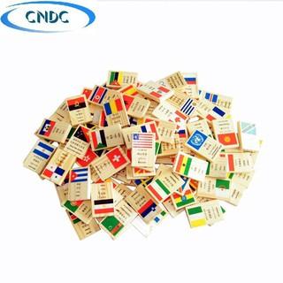 Bộ domino 100 cờ các quốc gia