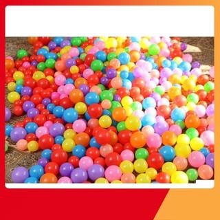 Túi 100 quả bóng nhựa cho bé vui chơi LOẠI XỊN