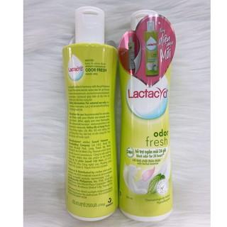 Dung dịch vệ sinh phụ nữ Lactacyd ngăn mùi 24 giờ 2