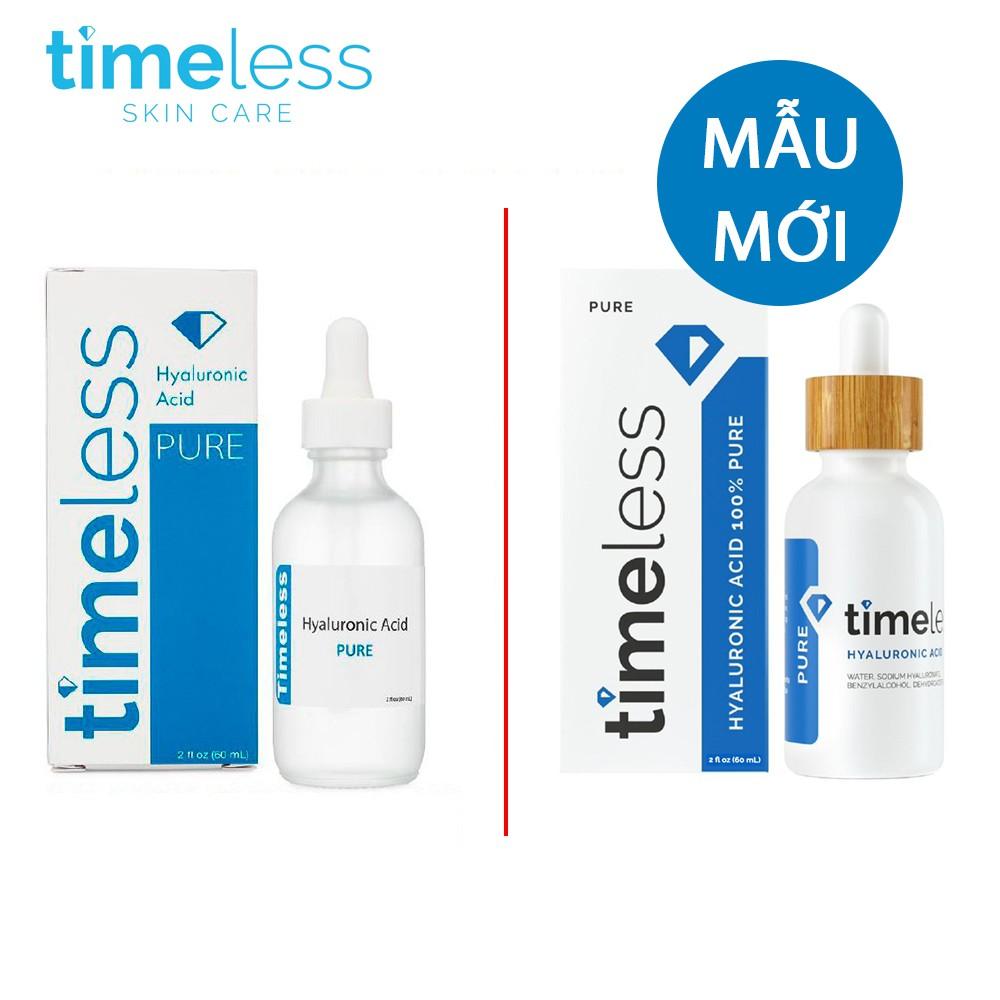 Mã COSHOT18 hoàn 8% xu đơn 250K] Cấp Nước Chuyên Sâu Serum Timeless  Hyaluronic Acid 100% Pure 30ml/60ml Chip Skincare | Shopee Việt Nam