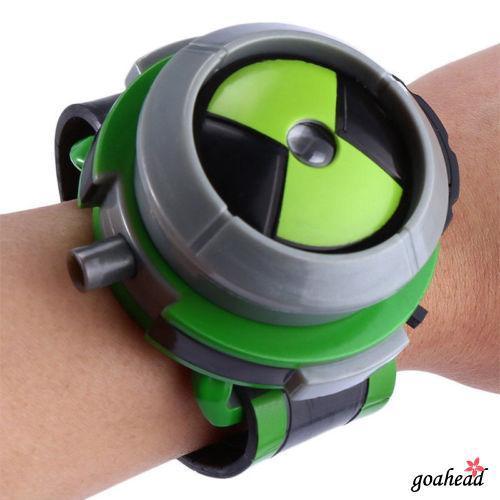 Đồng hồ đồ chơi chiếu ánh sáng 8V Ben 10 dành cho trẻ em