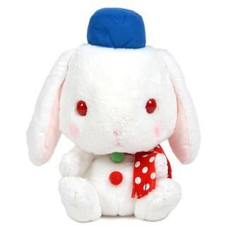 Pote Usa Loppy Snowman Rabbit Thỏ Bông Tuyết mắt đỏ Amuse