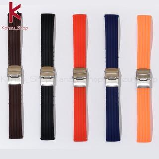Dây Đồng Hồ Cao Su Thời Trang - Dây Cao Su Đồng Hồ 16mm 18mm 20mm 22mm 24mm thumbnail