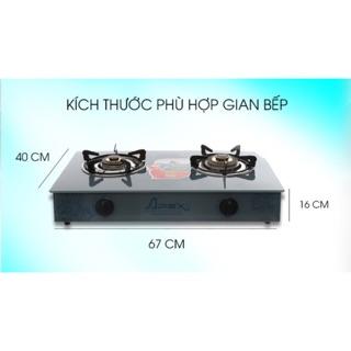 Bếp ga dương kính Apex cao cấp APB3550
