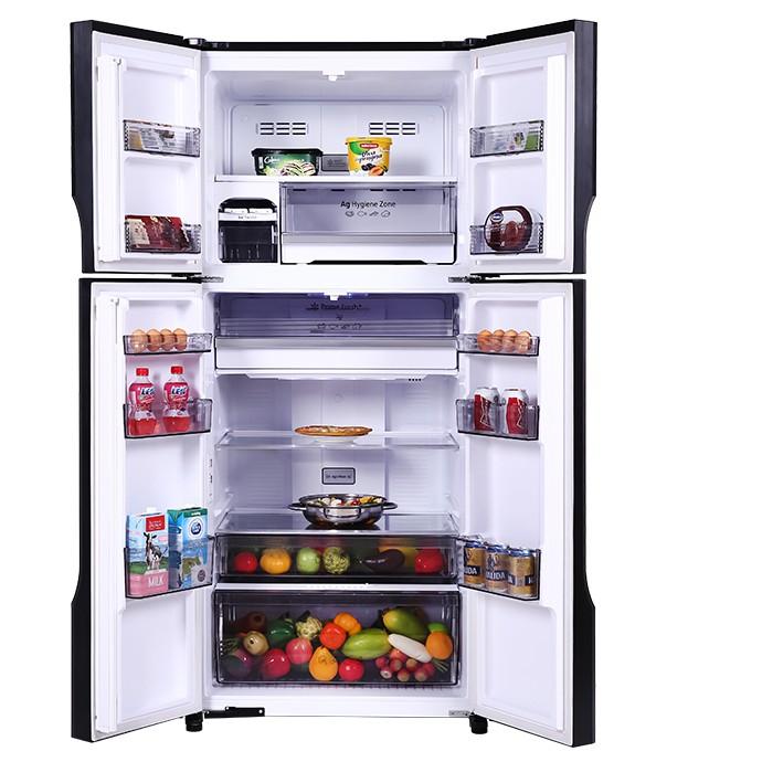 NR-DZ601VGKV - MIỄN PHÍ CÔNG LẮP ĐẶT- Tủ lạnh Panasonic Inverter 550 lít NR-DZ601VGKV Mới 2021
