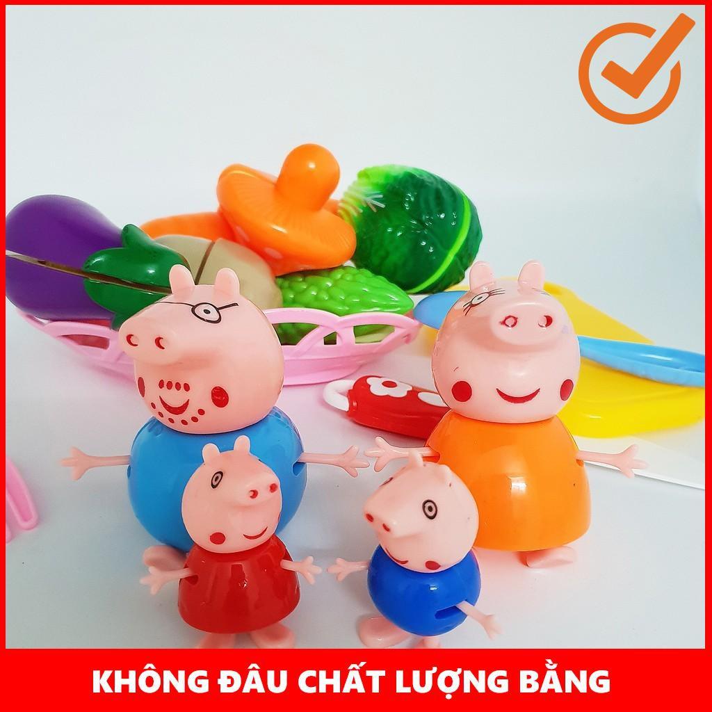[GIÁ SỐC]  Bộ đồ chơi cát hoa quả nhà lợn Pig