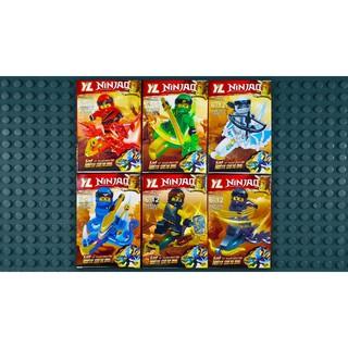 Đồ chơi lắp ráp lego ninjago season 9 ninja trọn bộ 6 hộp như hình YL831.