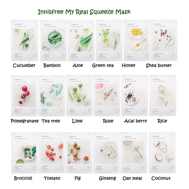 Mặt nạ giấy My Real Squeeze Mask - Innisfree - mẫu mới 2017 - 3499261 , 992812093 , 322_992812093 , 25000 , Mat-na-giay-My-Real-Squeeze-Mask-Innisfree-mau-moi-2017-322_992812093 , shopee.vn , Mặt nạ giấy My Real Squeeze Mask - Innisfree - mẫu mới 2017
