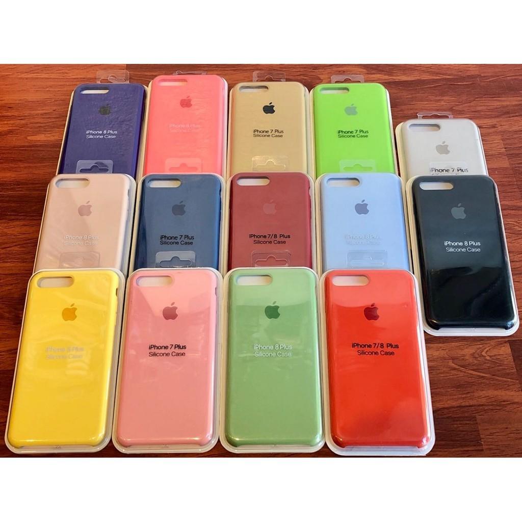 ⚜️Được chọn màu⚜️ Ốp lưng Silicone Case chống bụi bẩn, tẩy xóa cho IPhone XsMax