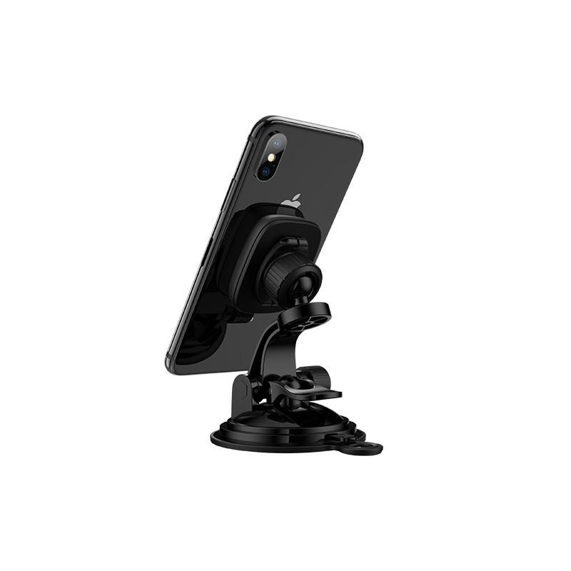 Giá đỡ điện thoại HOCO CA28 trên xe hơi ô tô Dành cho điện thoại iPhone iP Huawei Samsung Oppo Realme