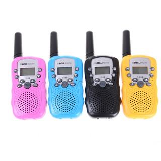 HEL❤ 2Pcs RT-388 Walkie Talkie Toys For Children Two Way Kids Radio Birth