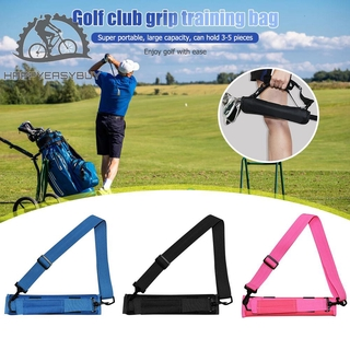 HY Portable Golf Club Ball Storage Bag Training Pouch Stick Carrying Container thumbnail