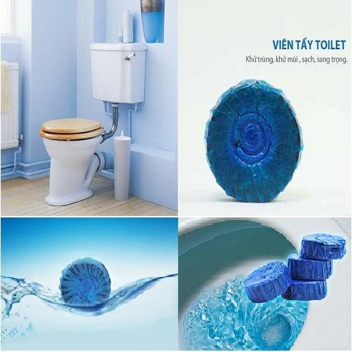 Viên tẩy và làm thơm toilet 4 viên HANDO