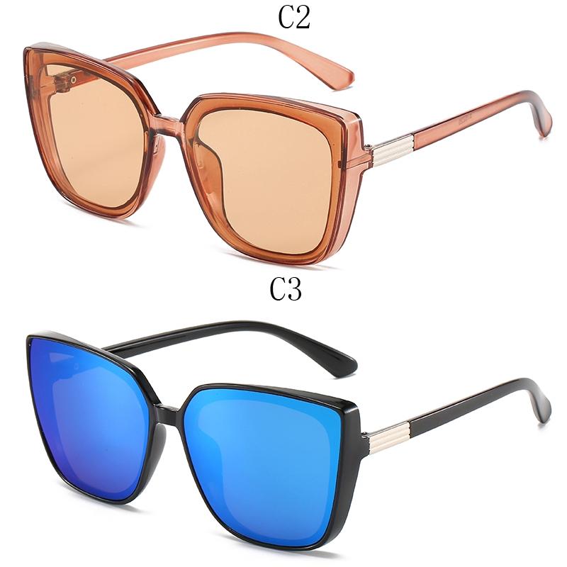 Kính râm gọng vuông chống tia UV thời trang cho nữ