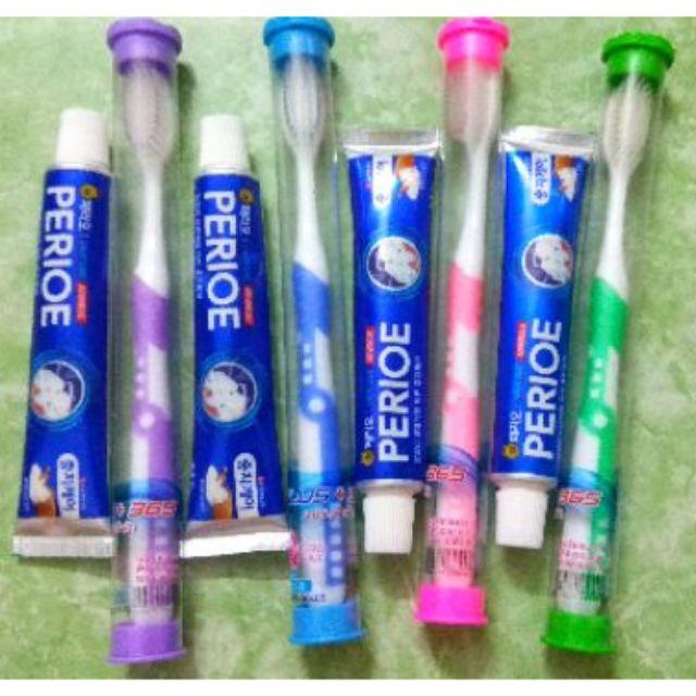 Combo Kem đánh răng và Bàn chải đánh răng Thái Lan