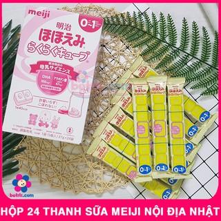 [HỘP 24 Thanh] Sữa Thanh Meiji (648gr) - Sữa Meiji Thanh Số 0-1 Nội Địa Nhật Bản thumbnail
