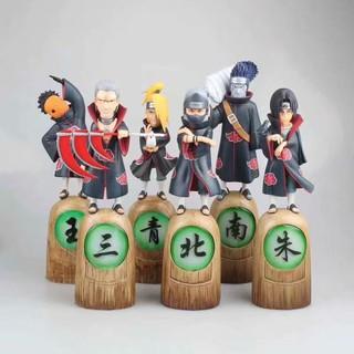Hand-made Naruto Akatsuki's first GK Dedara Uchiha Itachi Statue with soil Statue Hand-made model