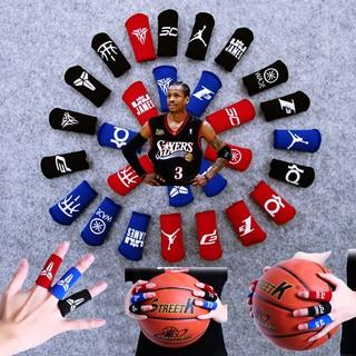 Băng Đeo Ngón Tay Bảo Vệ Ngón Tay Chơi Bóng Rổ Bóng Chuyền Tập Gym Logo NBA Kobe Curry Kyrie Jordan James Iverson Harden thumbnail