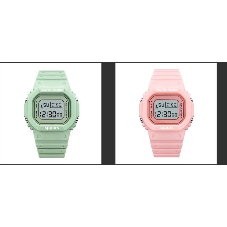 Đồng hồ điện tử nam nữ SPORTS thể thao, mẫu mới tuyệt đẹp, full chức năng, chống nước tốt- MS 08