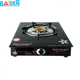 Bếp ga đơn mâm đồng, điếu Inox Hayasa HA-8100 (dùng bình gas lớn)