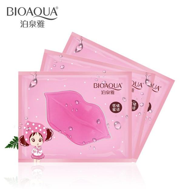 Mask môi Bioaqua dưỡng ẩm và trị môi thâm