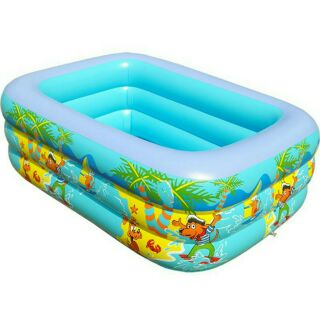Bể bơi 3 tầng 1.5m cao 50cm