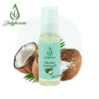 Dầu Dừa giúp phục hồi và dưỡng tóc chắc khỏe 50ml JULYHOUSE