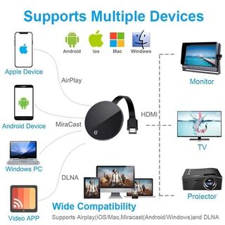 Thiết Bị Nhận Tín Hiệu Wifi Không Dây Hdmi G7S Tv Stick 2.4g / 5g Anycast Cho Google 4k