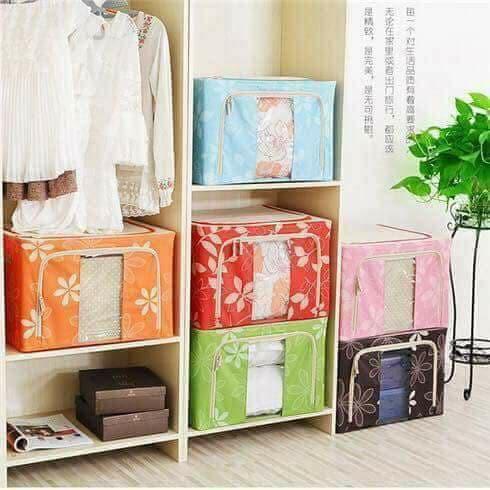 Hộp living box đựng chăn màn quần áo