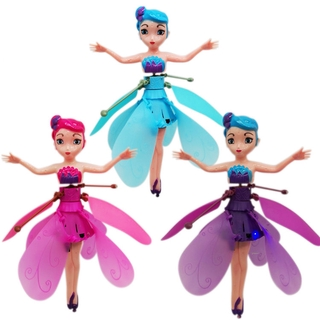 Flying Fairy Doll for Girls – Magically Gift for 6 Year Old Girl Kids Toy – Infrared Induction and Remote Control Toys – Birthday Present for Children
