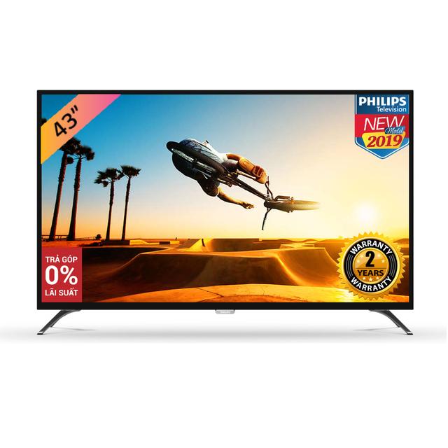 Smart Tivi Philips 43 Inch UHD 4K 43PUT6023S/74 - Hàng Chính