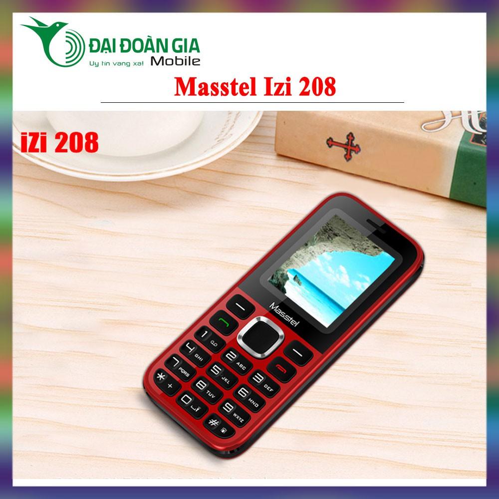 Điện thoại Masstel izi 208 - Hàng chính hãng - 3511260 , 945489621 , 322_945489621 , 312500 , Dien-thoai-Masstel-izi-208-Hang-chinh-hang-322_945489621 , shopee.vn , Điện thoại Masstel izi 208 - Hàng chính hãng