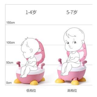 Nhà vệ sinh cho trẻ em dụng cụ vệ sinh cho bé gái nhà vệ sinh chỗ ngồi cho bé trai bé bé đào tạo cỡ lớn cầm tay Thùng nư thumbnail