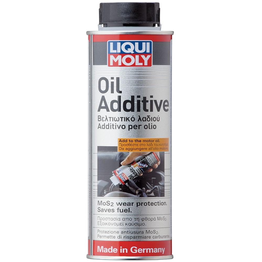 Phụ gia pha nhớt giảm ma sát động cơ tiết kiệm nhiên liệu Liqui Moly MoS2 300ml