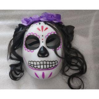 Mặt nạ Annabelle rùng rợn. Hóa trang Halloween, party