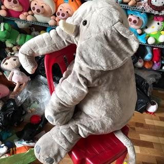 Gấu bông voi xám